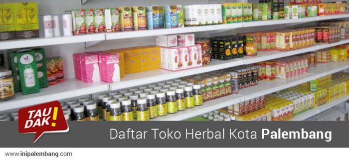Toko Herbal Palembang & Apotek Herbal Palembang