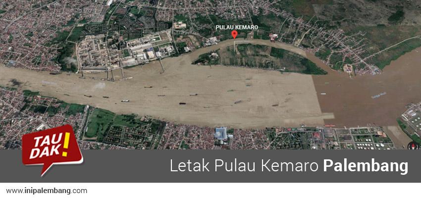 Lokasi Pulau Kemaro Palembang