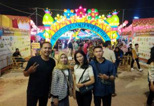 Festival 10.000 Lampion di Bumi Sriwijaya